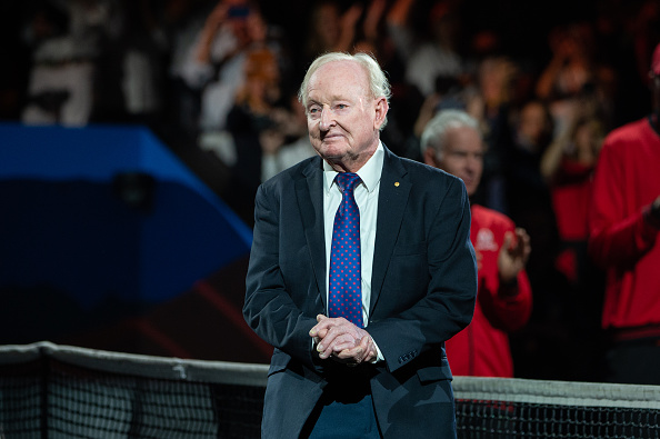 Laver at 82… still charming the game he once dominated
