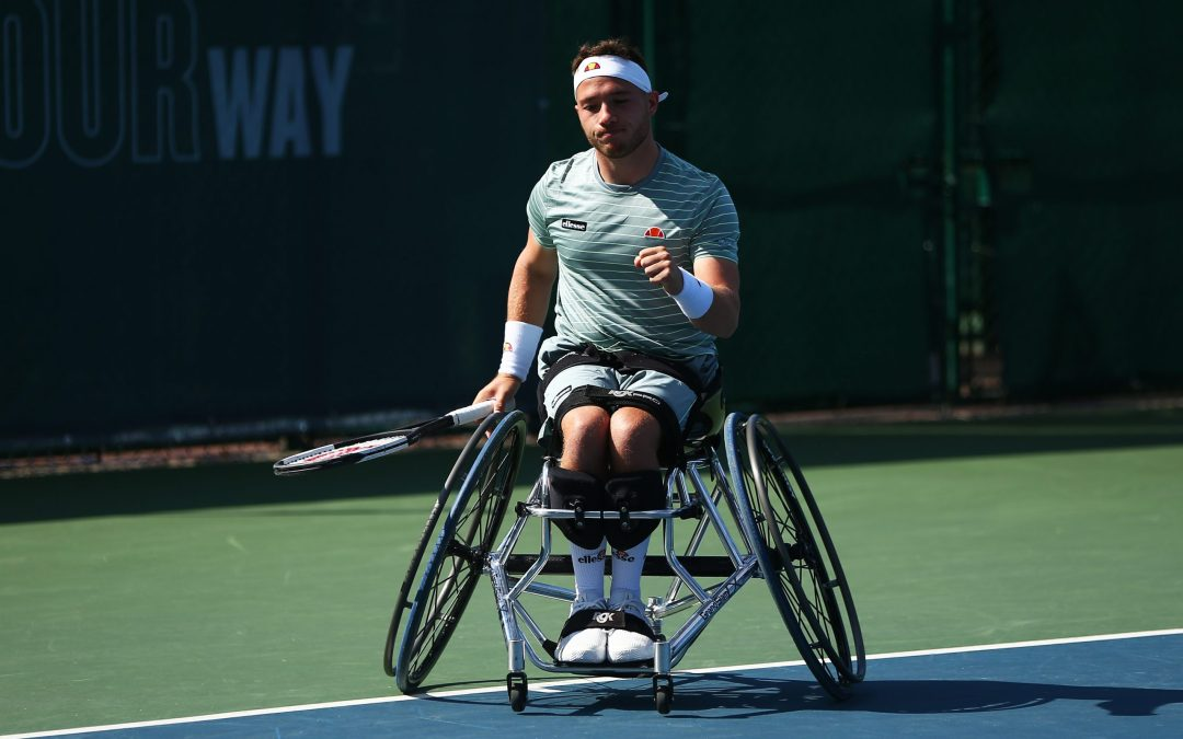 Hewett reaches fourth straight US Open semi-final
