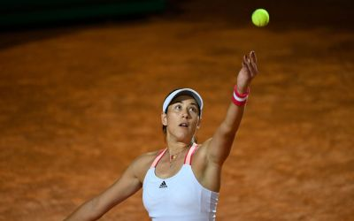 Kerber falls as Muguruza kicks on in Rome