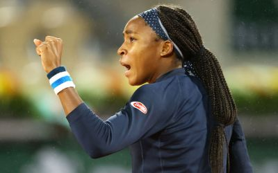 Gauff conquers Konta, Halep opens with a win