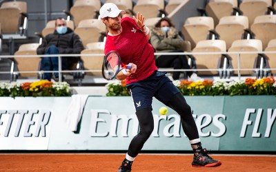 Murray and Evans fall at first hurdle in Paris