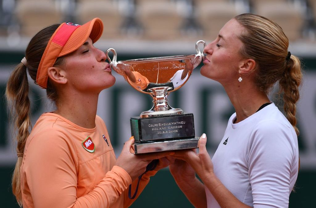 Babos & Mladenovic retain French doubles title