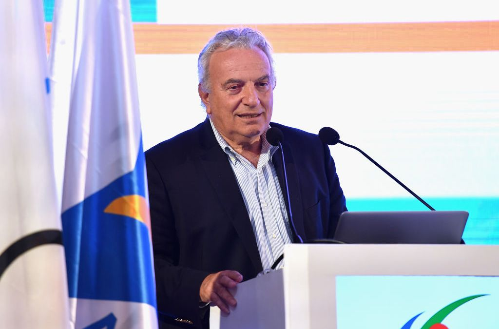 Ricci Bitti takes on 3rd ASOIF term as President