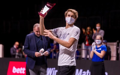 Zverev does the Cologne double