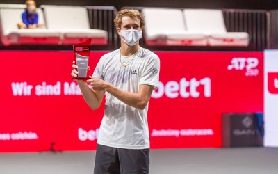 Zverev claims the first leg of Cologne
