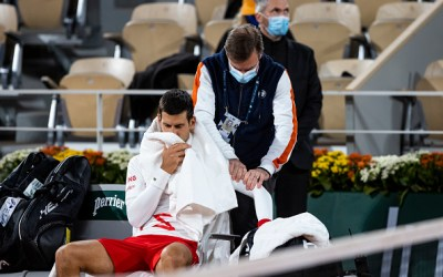 Djokovic 'tactics' questioned by opponent