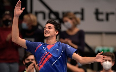 Favourites tumble in Vienna – Djokovic and Thiem out, Evans through