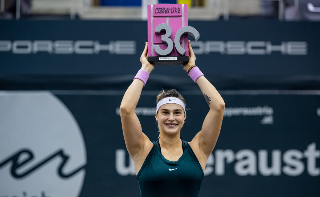 Sabalenka captures third 2020 title in Linz