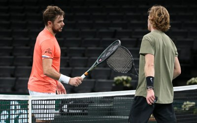 Wawrinka removes Rublev from the Paris field