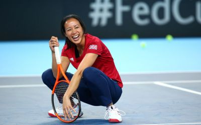 Keothavong honoured