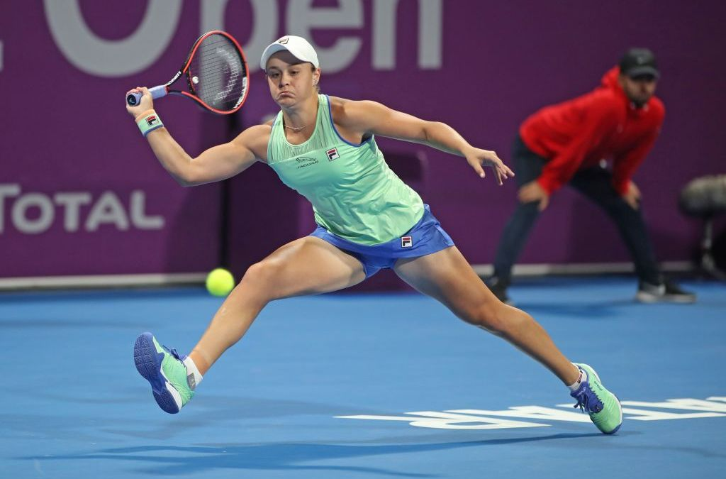 Barty joins Adelaide exhibition