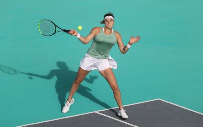 Sabalenka sets up Jabeur meeting