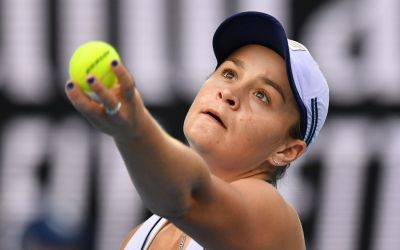Barty brushes by Rogers as Muchova upsets Mertens
