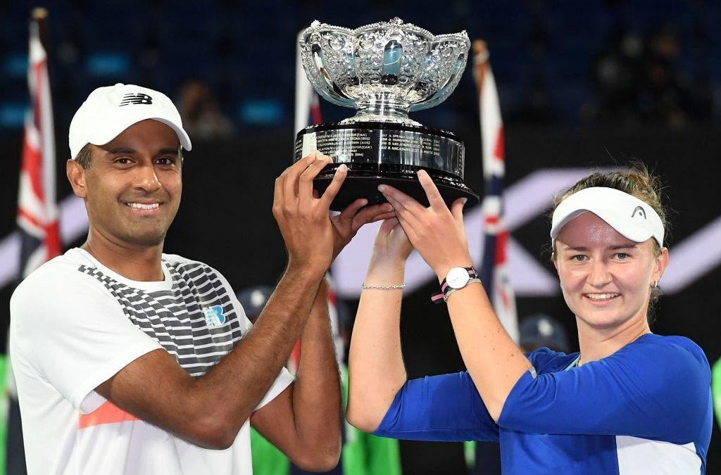 Krejcikova & Ram win AO mixed doubles title