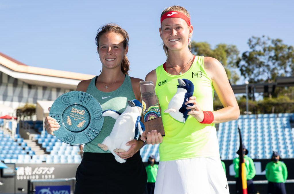 Kasatkina wins Phillip Island Trophy