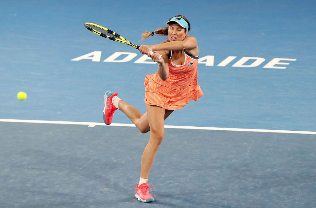 Collins beats Zheng to meet Barty in Adelaide