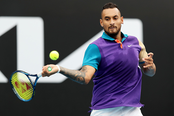 Kyrgios tested but pulls through