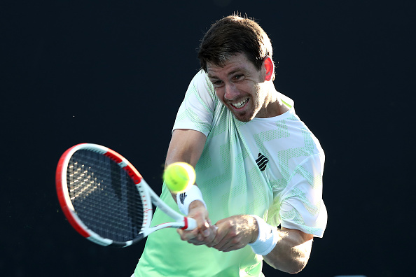 Norrie upsets Evans in Battle of Brits at AO