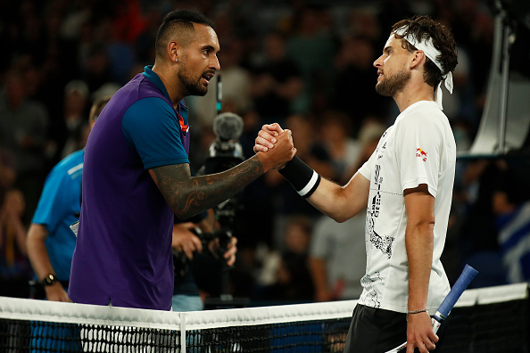 Drama and upsets prevail at AO