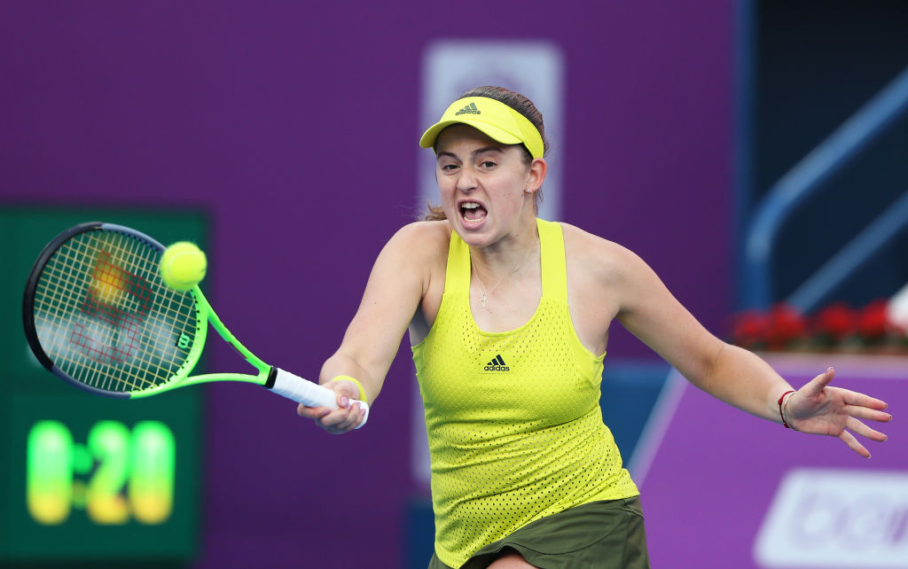 Ostapenko opens St Petersburg campaign with a win