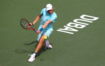 Shapovalov reveals why players withdraw as he leads way into Dubai semis.