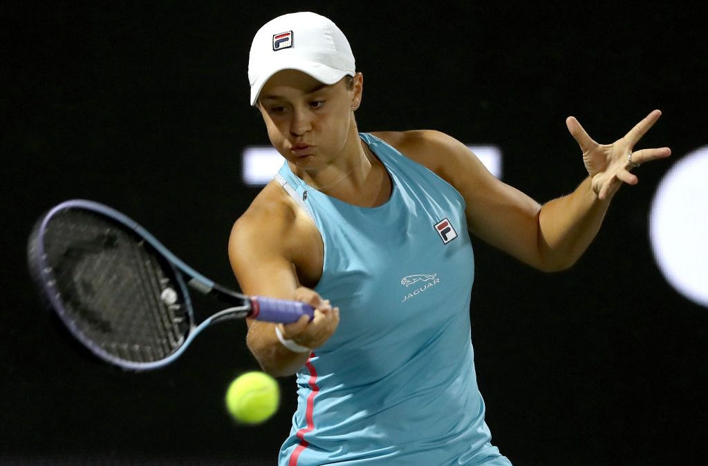 Barty battles on as Kvitova and Muguruza depart