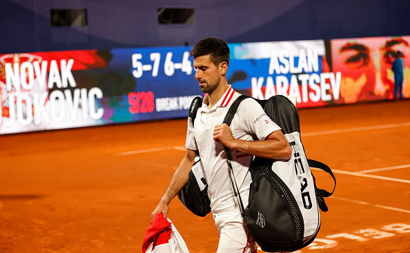 Djokovic crashes out of home event
