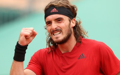 Tsitsipas ends Evans run to face Rublev in final