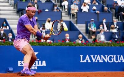 Nadal scraps through to Barcelona last eight