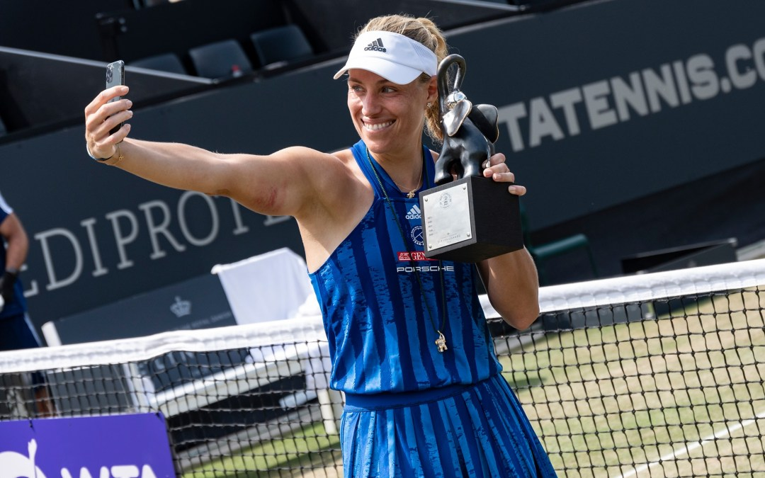 Kerber wins Bad Homburg title