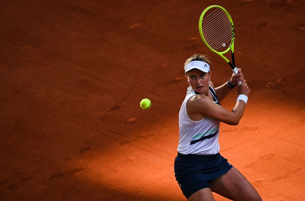 Krejcikova outlasts Sakkari to reach Paris final