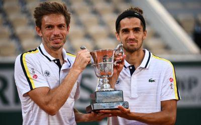 Herbert & Mahut claim second Roland Garros doubles title