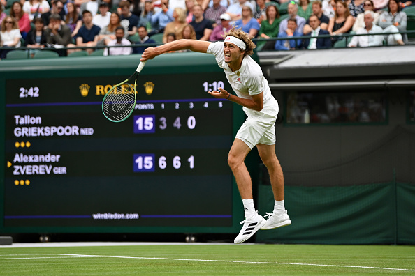 Zverev eases through in time for the big match