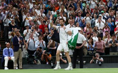 Andy Murray out of Wimbledon after straight-sets defeat