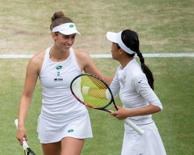 Ladies Doubles set for Saturday final