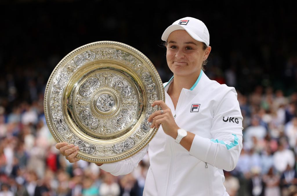 Barty's triumphs