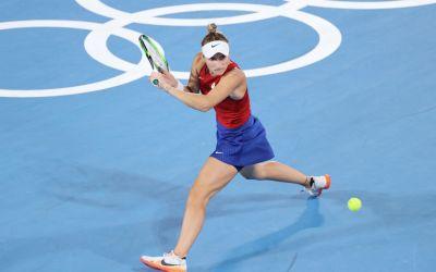 Osaka bows out as Svitolina, Muguruza and Bencic make Olympic quarter-finals