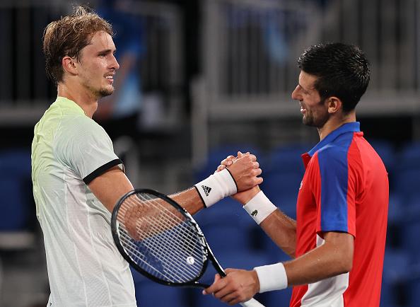 Zverev foils Djokovic's Golden dream