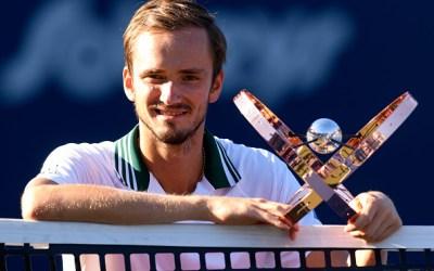 Medvedev picks up Toronto Masters title