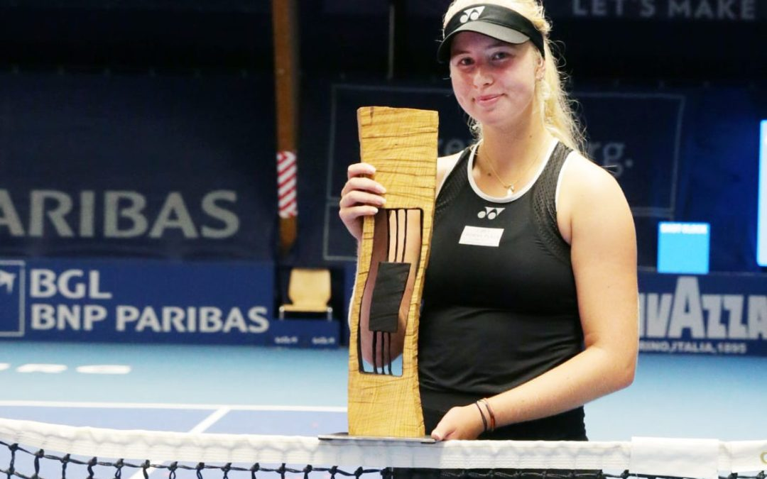 Tauson upends Ostapenko title defence in Luxembourg