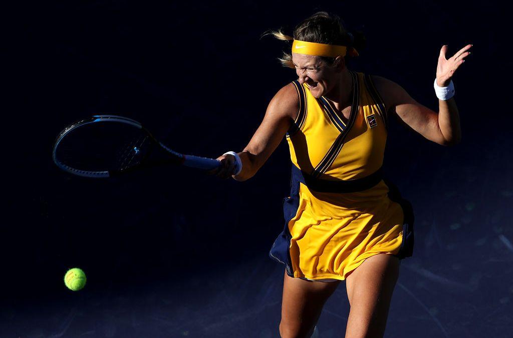 Azarenka to meet Ostapenko in Indian Wells semi-finals