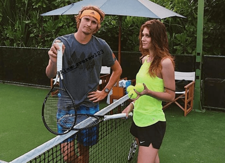 Zverev And Girlfriend Getting Back To Training Tennis Tonic