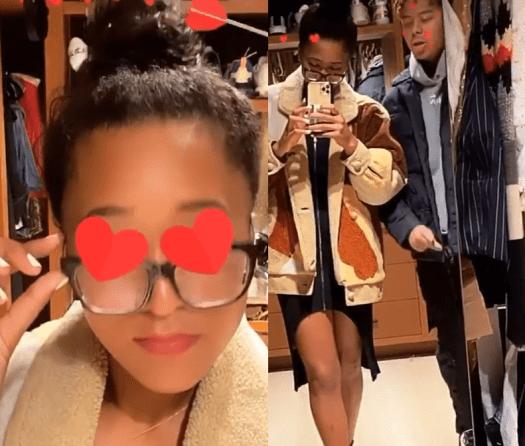 Naomi Osaka posts weird video with boyfriend YBN Cordae ...