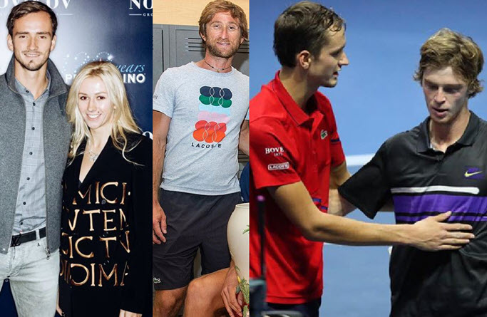 Daniil Medvedev's coach, wife, family and friendship with ...