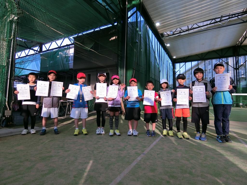 【大会】高石市庭球連盟、RED単の部開催