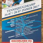 Tennisjeugdkamp Holland Tennis