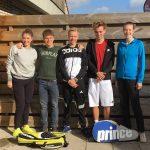 Mixteam t/m 17 kampioen najaarscompetitie