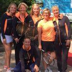 Dames 1 T.V. Nieuw-Vennep goed op weg