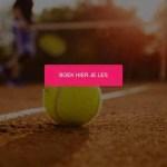 Tennisles boeken bij Intense Tennis