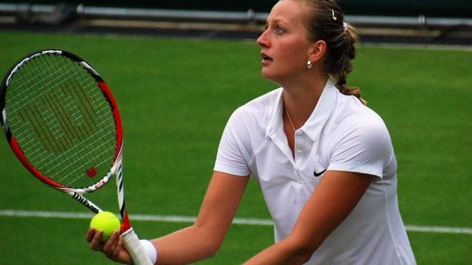 Kvitova Advances Sharapova Injured At St Petersburg Open